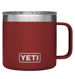 YETI YETI Rambler Mug 14oz Brick Red