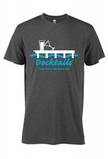 Morsel Munk Docktails T-Shirt - Charcoal Heather