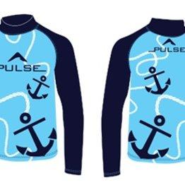 Pulse/Diversco Pulse Children's Rashguard Blue