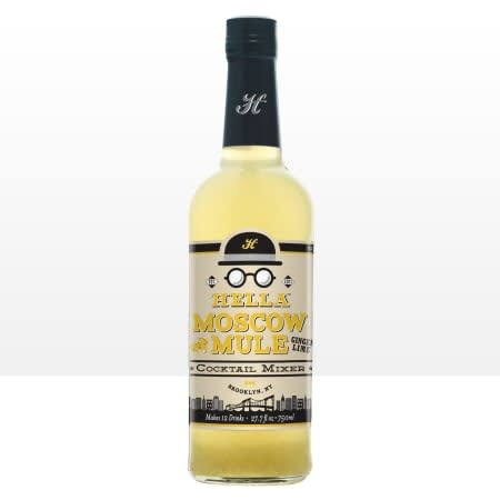 Hella Bitter Moscow Mule Cocktail Mixer 750ml