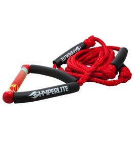 Hyperlite HYPERLITE 20' Wakesurf Rope Red W/Handle