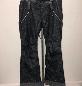 CONSIGN Women's Ride Snowboard Pants Black Grey Size XL