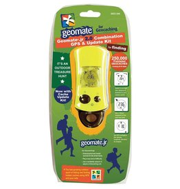 Geomate Jr. 2.0 Geocaching GPS combo kit with update cable