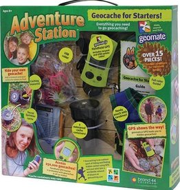 Adventure Station - Geocaching Kit with GPS