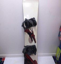 CONSIGN Men's Liquid Vortex 150cm w/Liquid Bindings Snowboard