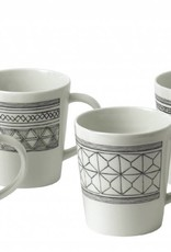 ED by Ellen Degeneres ED - Ellen Degeneres Charcoal Grey Mug Set/4 Mixed