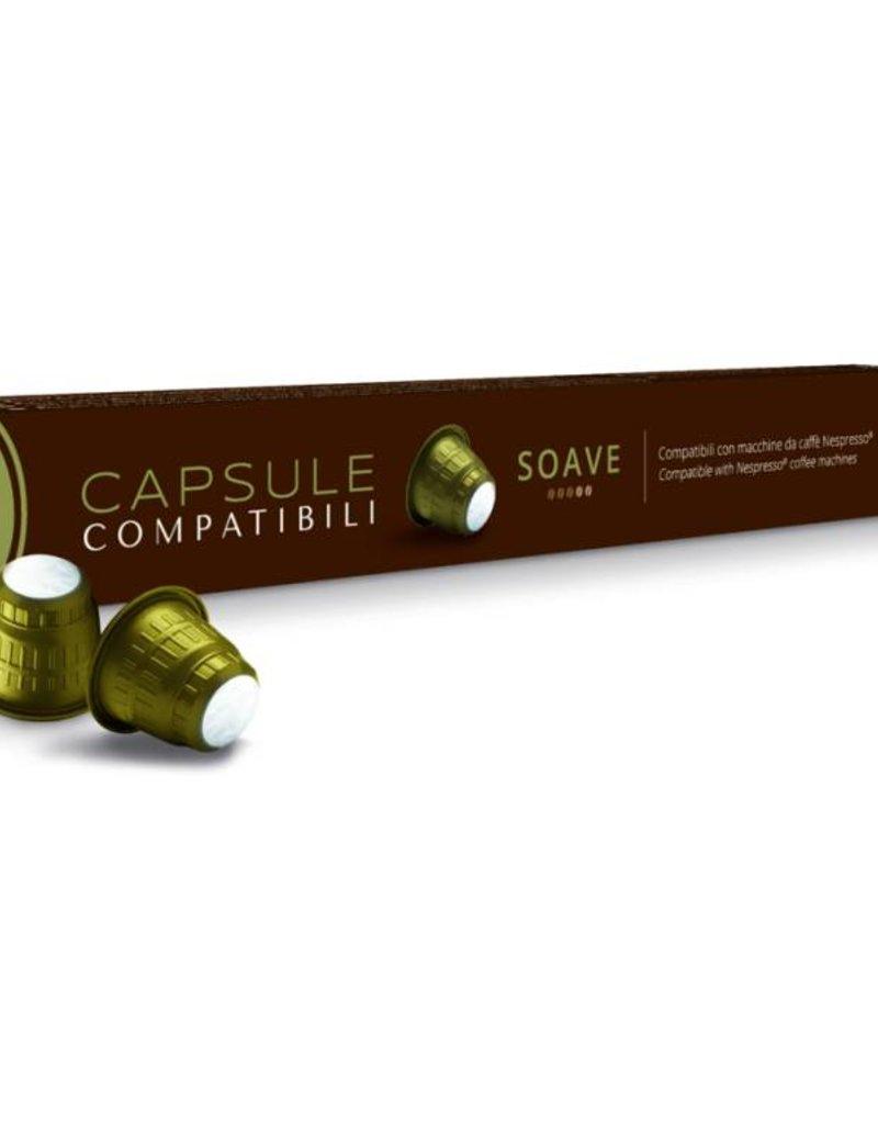 Caffitaly Bellucci Caffitaly - Soave Compatible Nespresso (Box 10)
