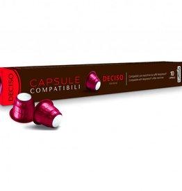 Bellucci Caffitaly - Deciso Compatible Nespresso (Boite 10)