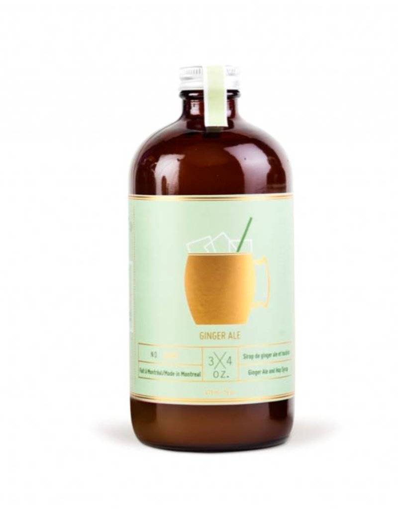 3/4 oz. Tonic Maison 3/4 oz.  -  Ginger Ale Maison 500ml