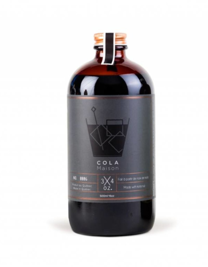 3/4 oz. Tonic Maison 3/4 oz. - Cola Syrup 500ml