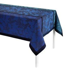 Le Jacquard Français Le Jacquard Français - Tablecloth Feuillage Cobalt 140X260