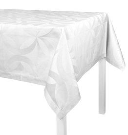 Le Jacquard Français Le Jacquard Français - Tablecloth Ellipse White 55x102