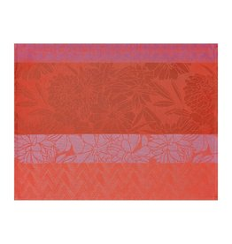 Le Jacquard Français Le Jacquard Français - Coated placemat Brooklyn Pink 48x36