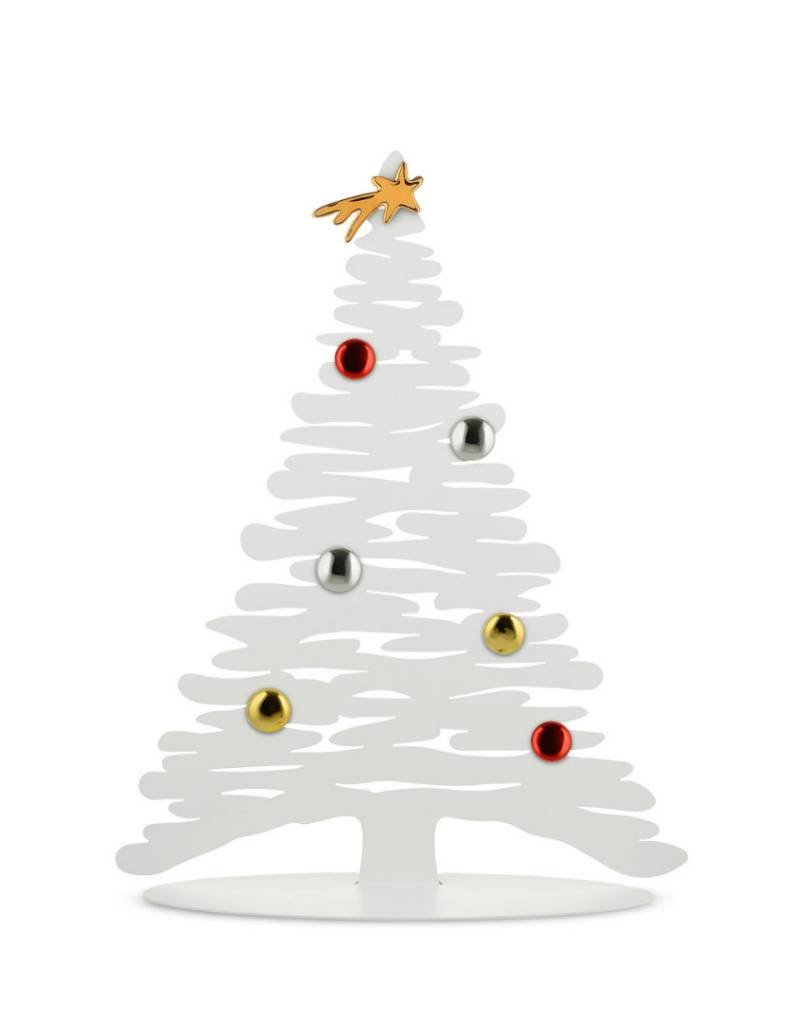 Alessi Alessi - Arbre Tree Bark Christmas Tree in Steel White