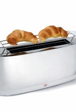 Alessi Alessi - Stainless Steel Toaster & PC White