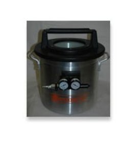 1 1/4 Gallon Vacuum Chamber With Venturi (Requires Air Compressor)