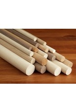 1'' Wooden Dowel Orange