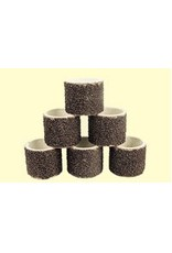 "Dedeco International 1/2"" Sander Bands Coarse 6pc"
