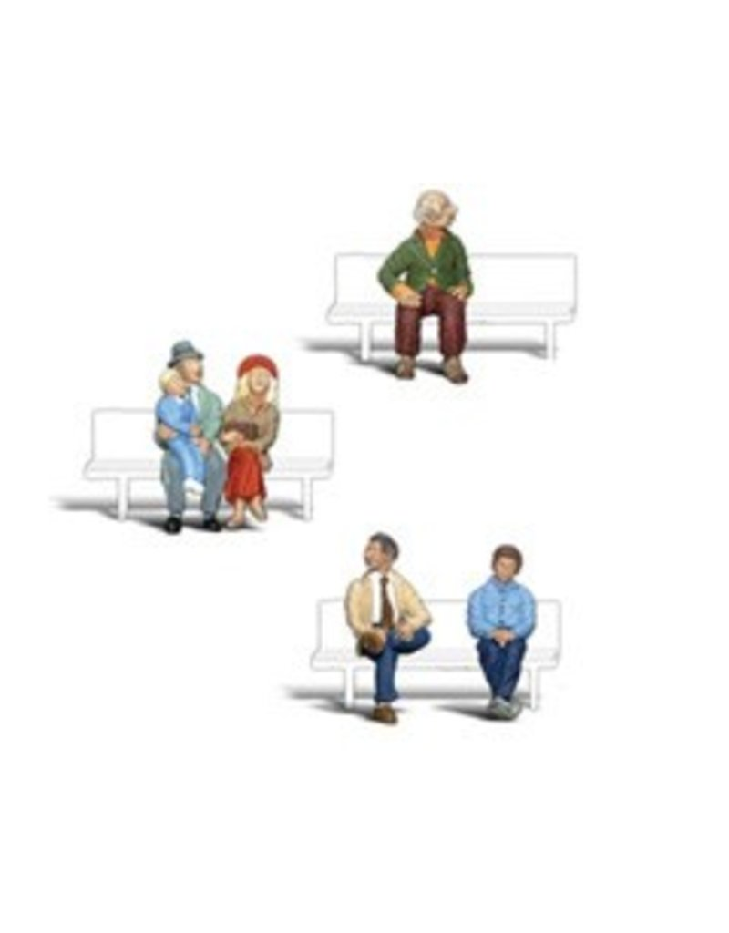 Woodland Scenics 1/4'' Seated People