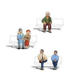 Woodland Scenics 1/8'' Seated People