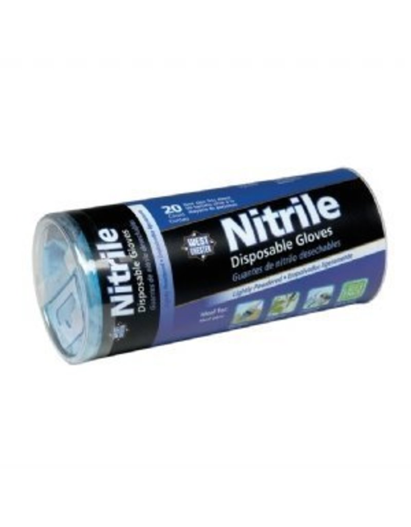 Nitrile Gloves 20pc Tube