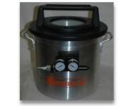 2 Gallon Vacuum Chamber With Venturi (Requires Air Compressor)