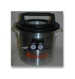 2 Gallon Vacuum Chamber With Venturi Pump (Requires Air Compressor)
