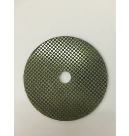 4'' Genesis Disc 120 Grit 5/8'' Hole