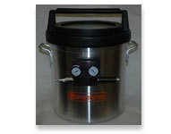 5 Gallon Vacuum Chamber With Venturi (Requires Air Compressor)