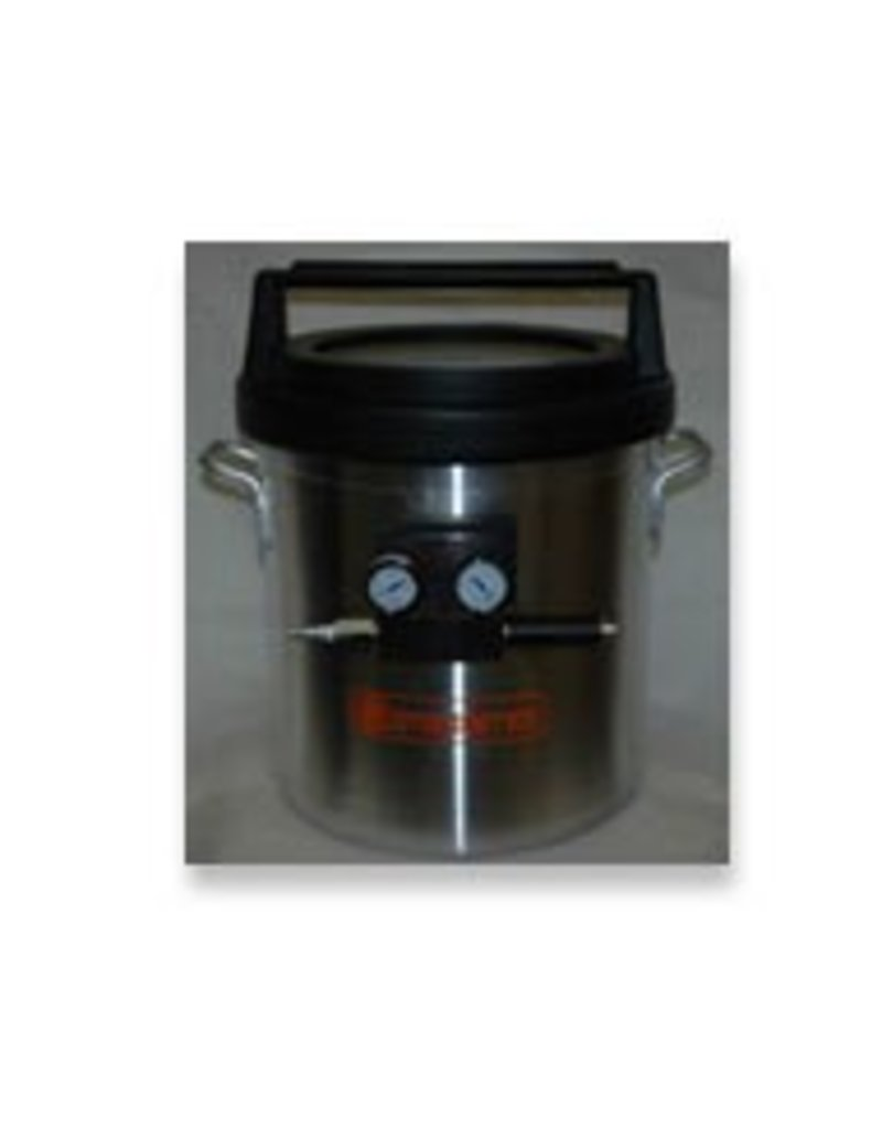 5 Gallon Vacuum Chamber With Venturi Pump (Requires Air Compressor)