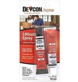 Devcon 5 Minute Epoxy 1/2oz Tubes