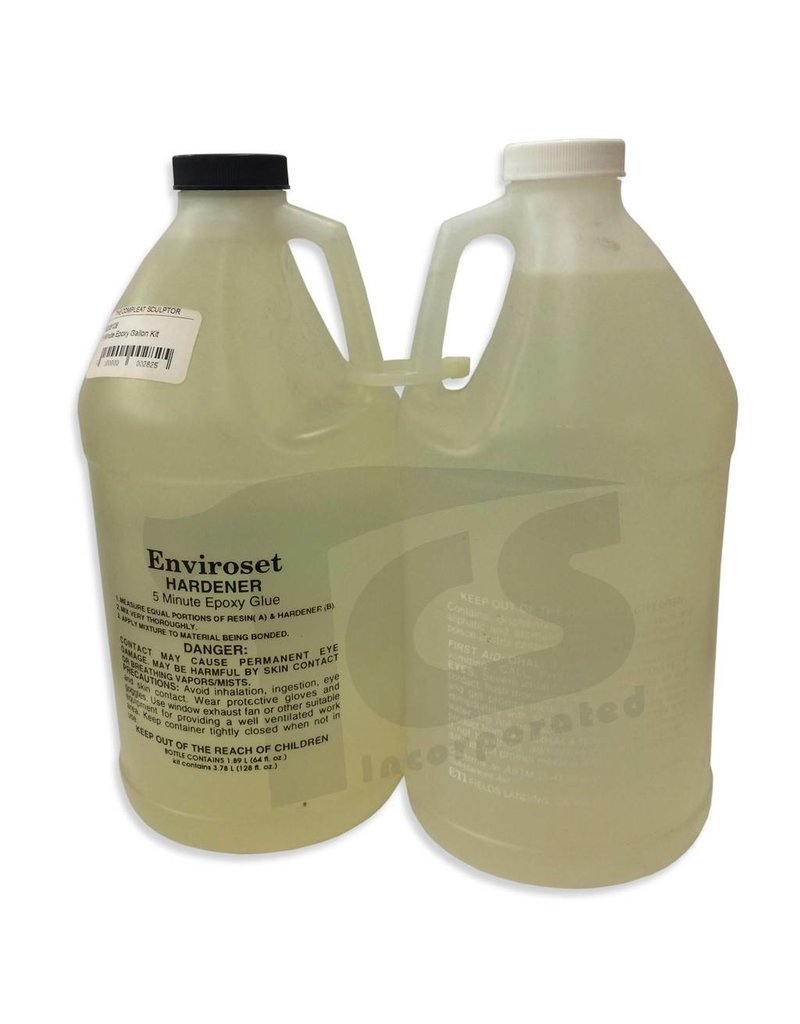 ETI 5 Minute Epoxy Gallon Kit enviroset