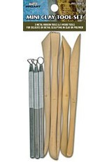 8pc Mini Clay Tool Set