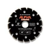 Alpha Professional Tools Alpha Libero Diamond Blade 4 1/2in