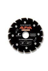 Alpha Professional Tools Alpha Libero Diamond Blade 4 1/2in