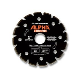 Alpha Professional Tools Alpha Libero Diamond Blade 4in