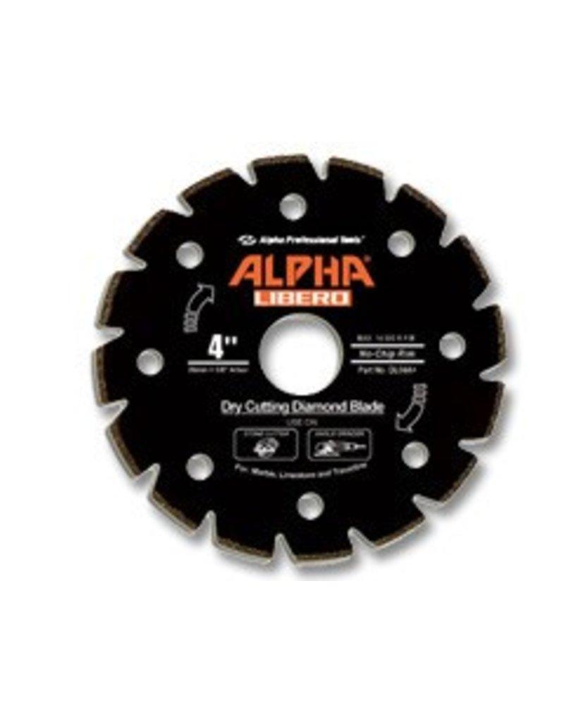 Alpha Professional Tools Alpha Libero Diamond Blade 4in