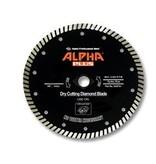 Alpha Professional Tools Alpha Plus Diamond Blade 4 1/2in