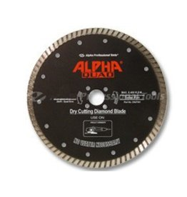 Alpha Quad Diamond Blade 7in