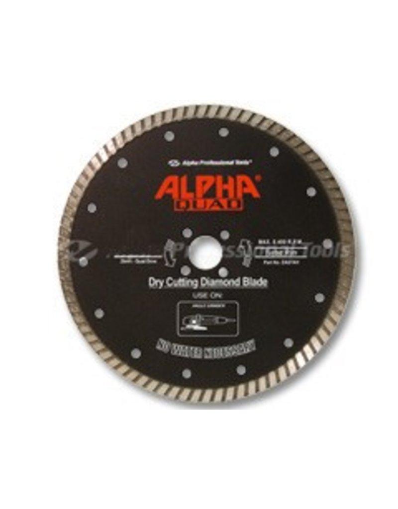 Alpha Quad Diamond Blade 7in