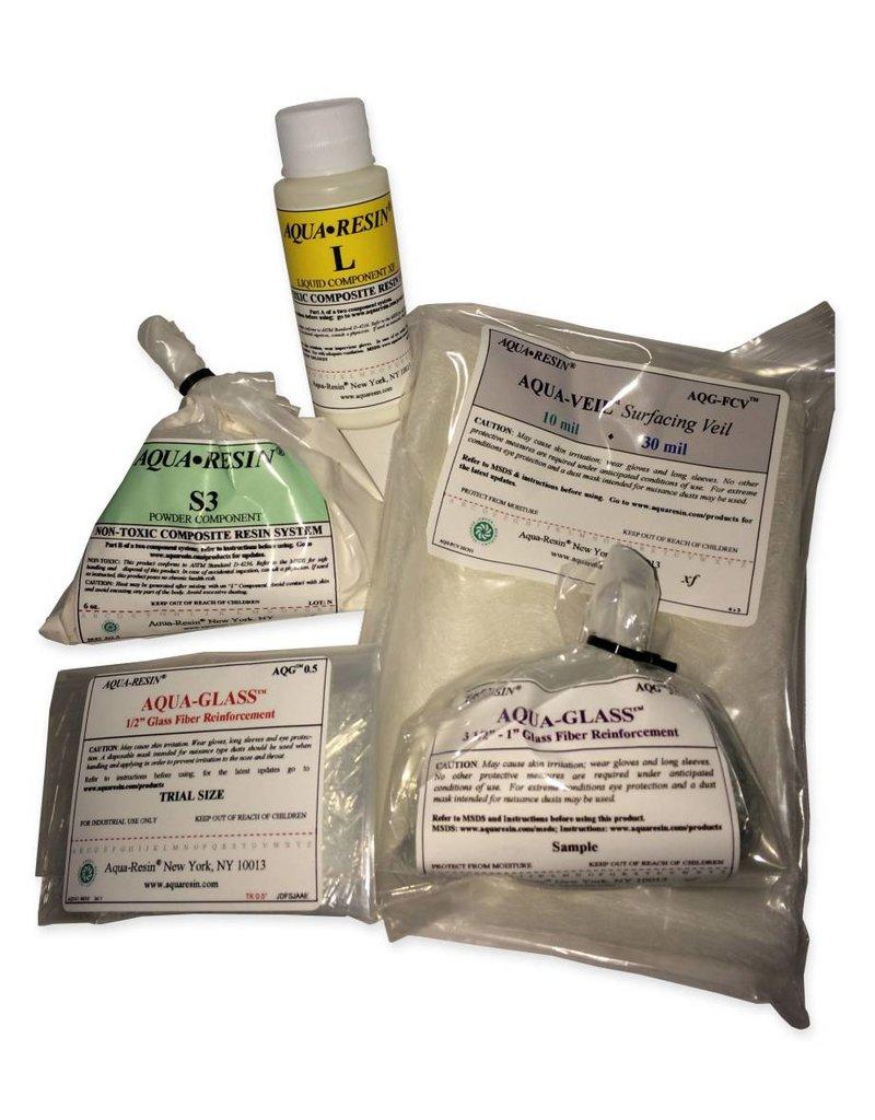 Aquaresin Aqua-Resin Sample Size Kit