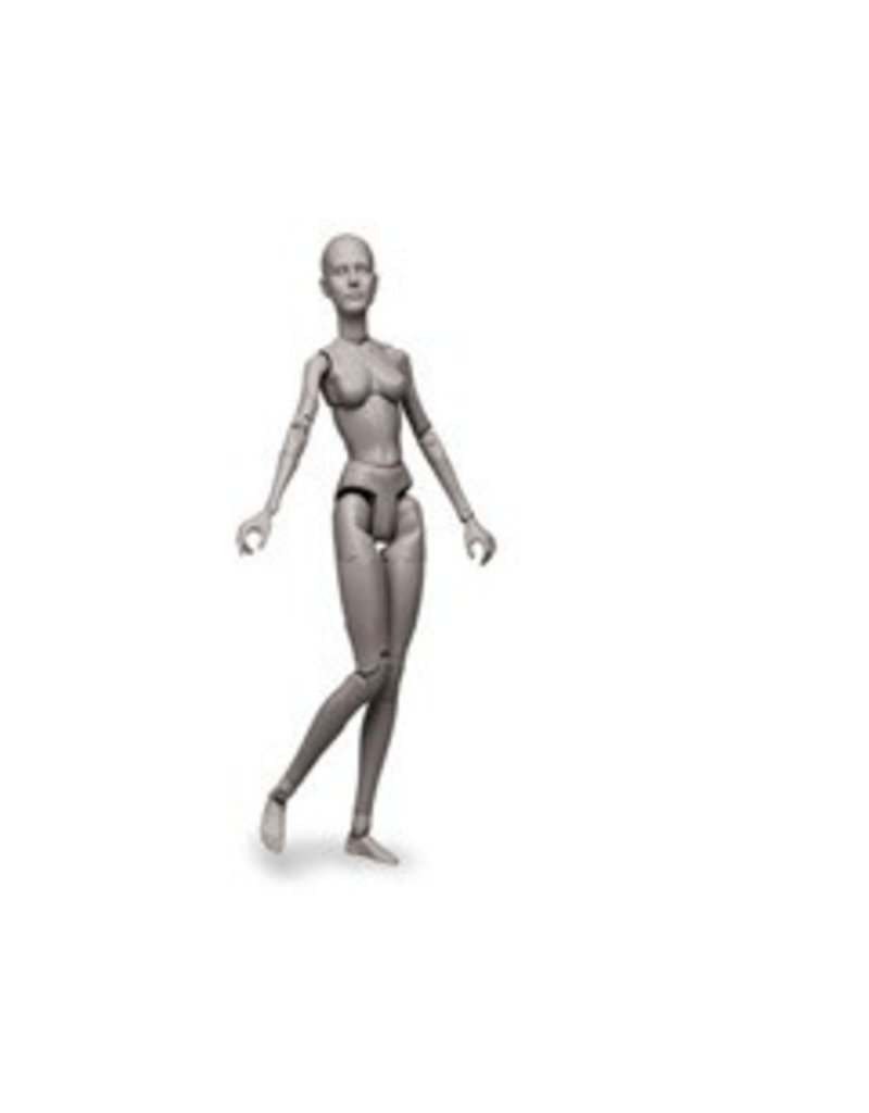 Sideshow Collectables Art S. Buck Female Grey Model
