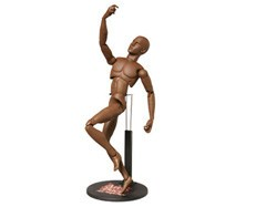 Sideshow Collectables Art S. Buck Male African American Model