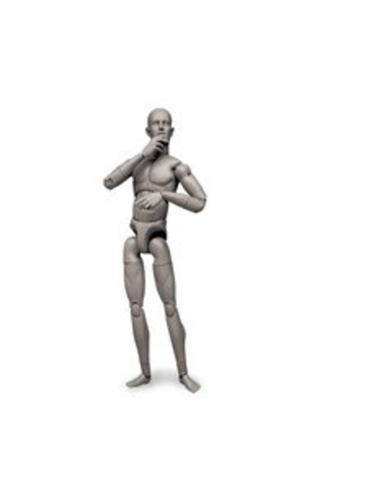 Sideshow Collectables Art S. Buck Male Grey Model