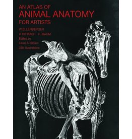 Atlas Of Animal Anatomy Book Ellenberger
