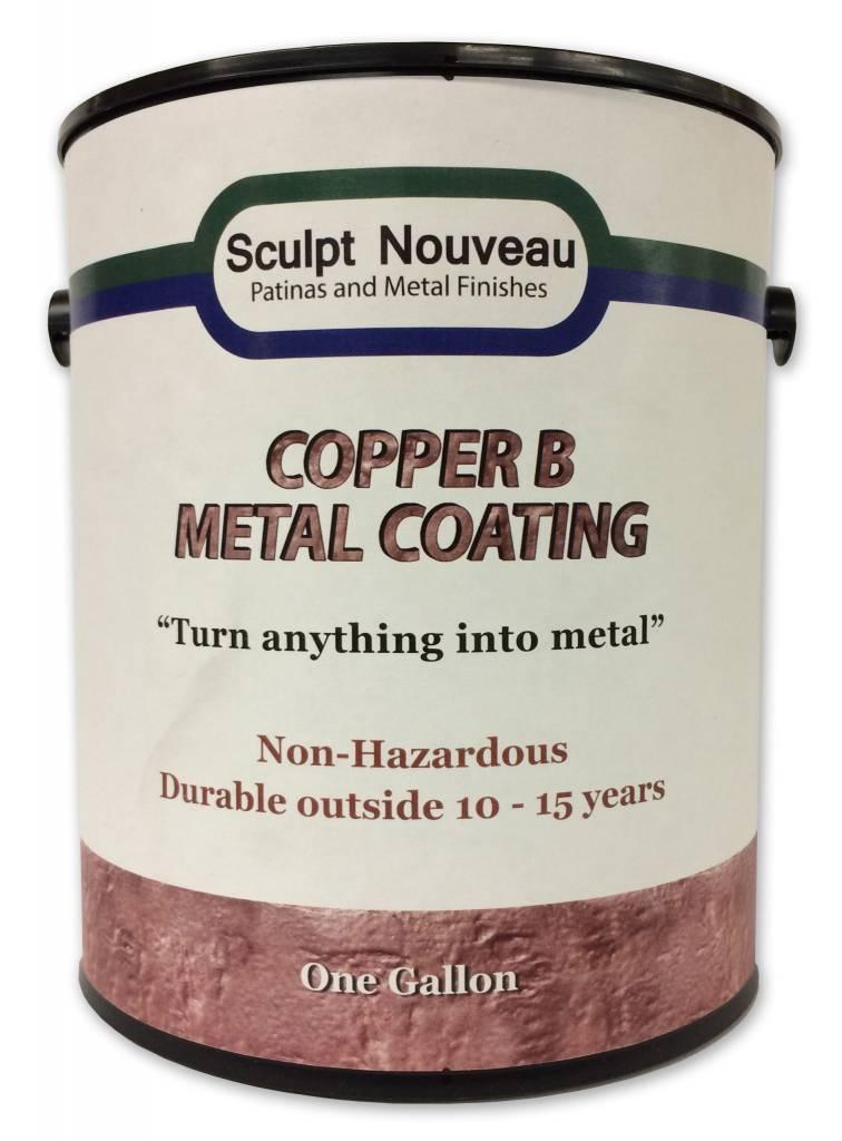 Sculpt Nouveau B Metal Coat Copper Gallon
