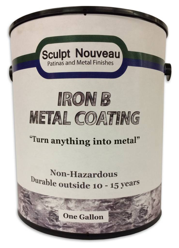 Sculpt Nouveau B Metal Coat Iron Gallon