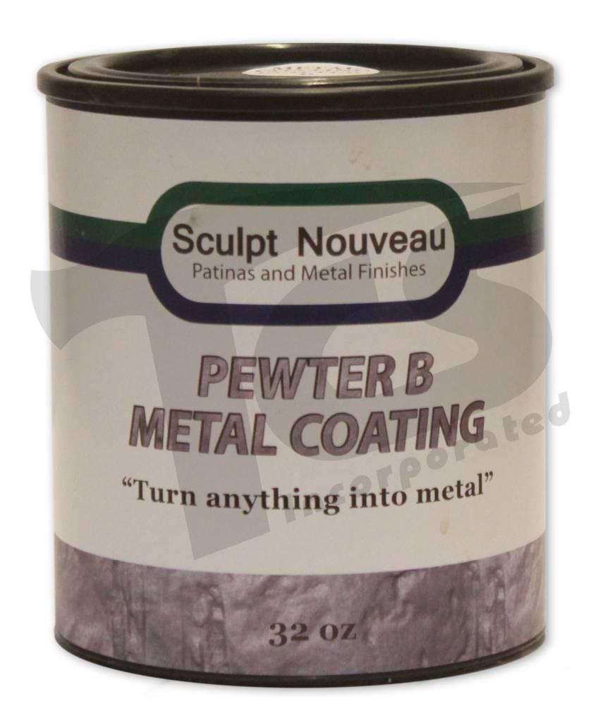 Sculpt Nouveau B Metal Coat Pewter 32oz