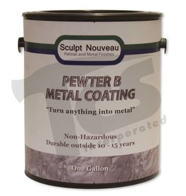 Sculpt Nouveau B Metal Coat Pewter Gallon