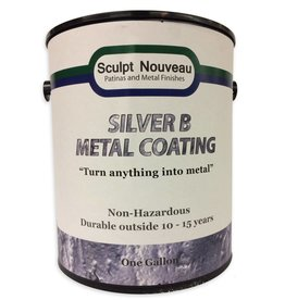 Sculpt Nouveau B Metal Coat Silver Gallon
